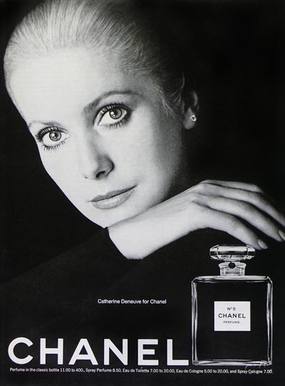 Chanel no. 5 Catherine Deneuve