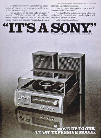 It's a Sony.