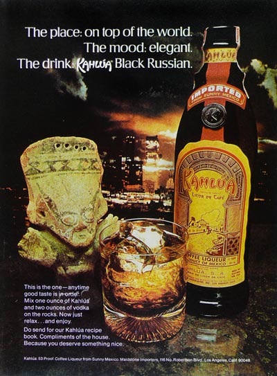 kahlua black russian
