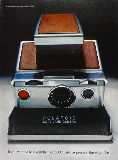 Polaroid SX 70 Land Camera